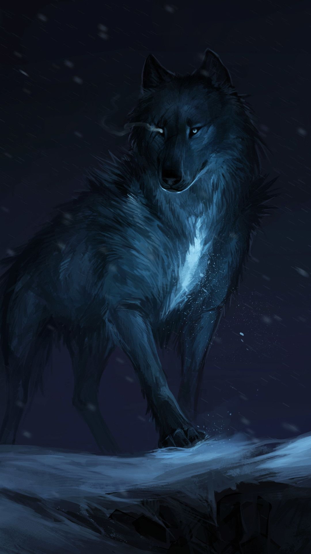 35 best free blue moon and wolf wallpapers wallpaperaccess