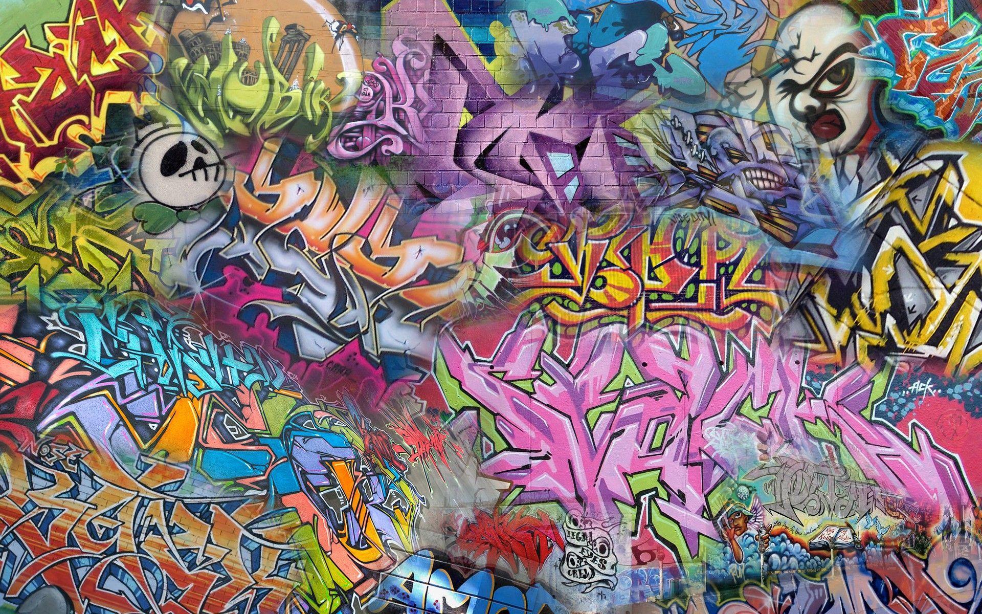 1920x1200 Street Wall Art Wallpaper