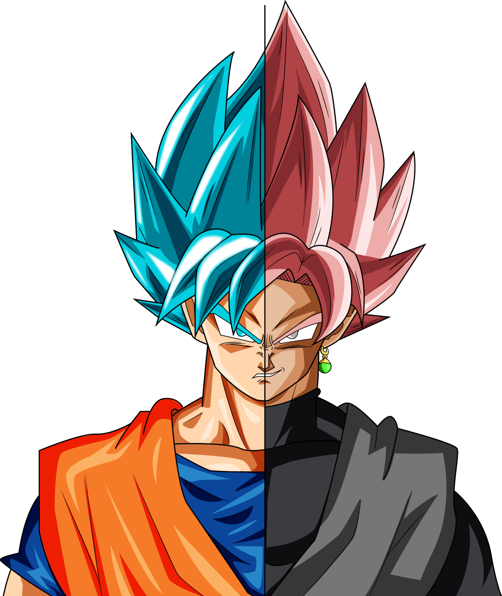 Goku And Goku Black Wallpapers