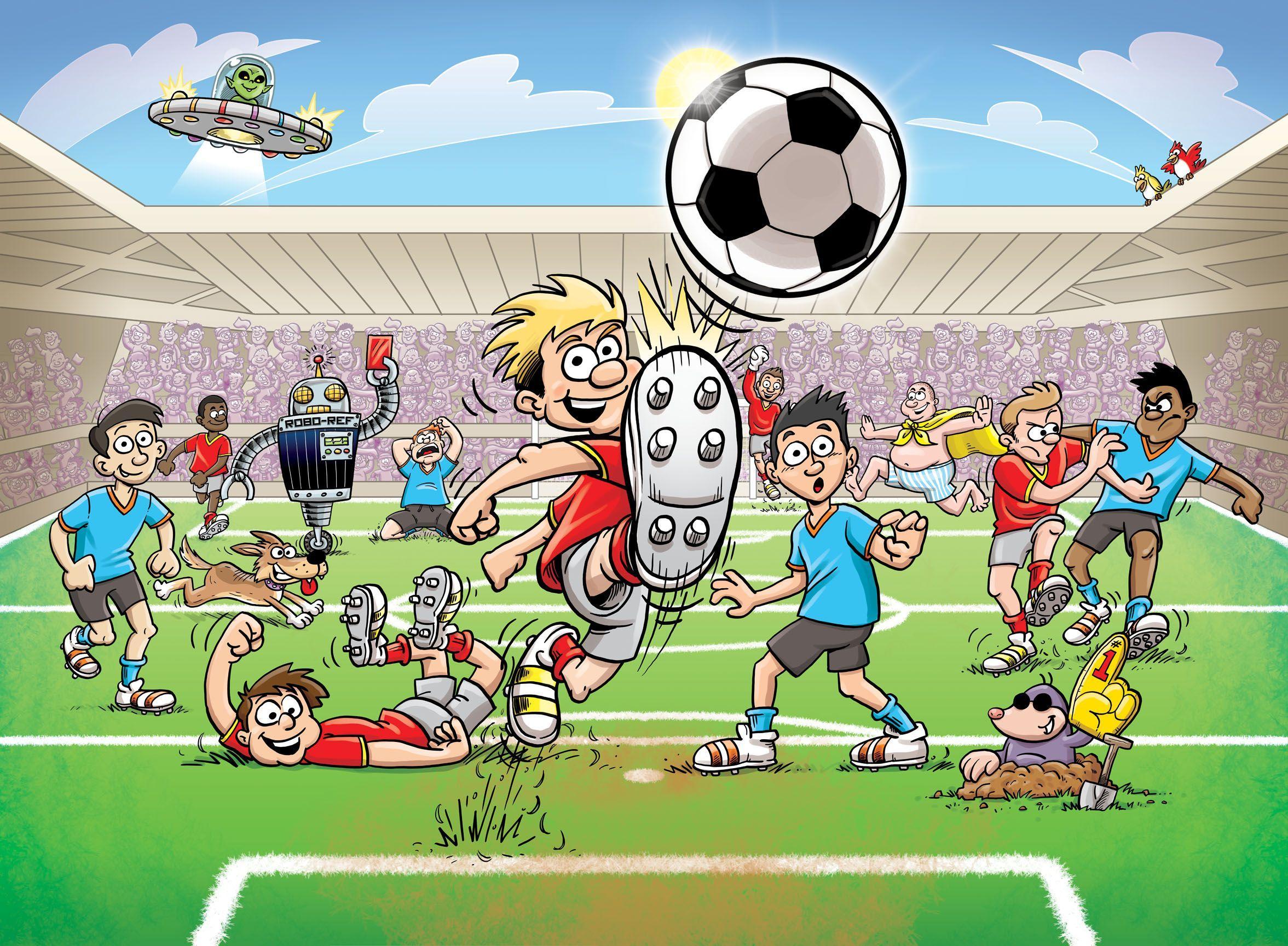 они при мультяшные картинки з футболом старте произнес