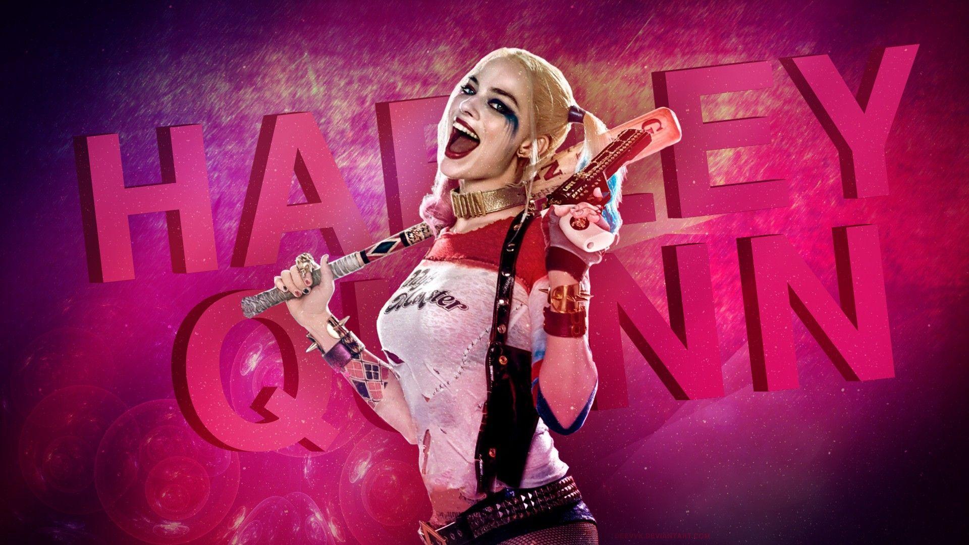 Margot Robbie As Harley Quinn Wallpaper: 4K Harley Quinn Wallpapers