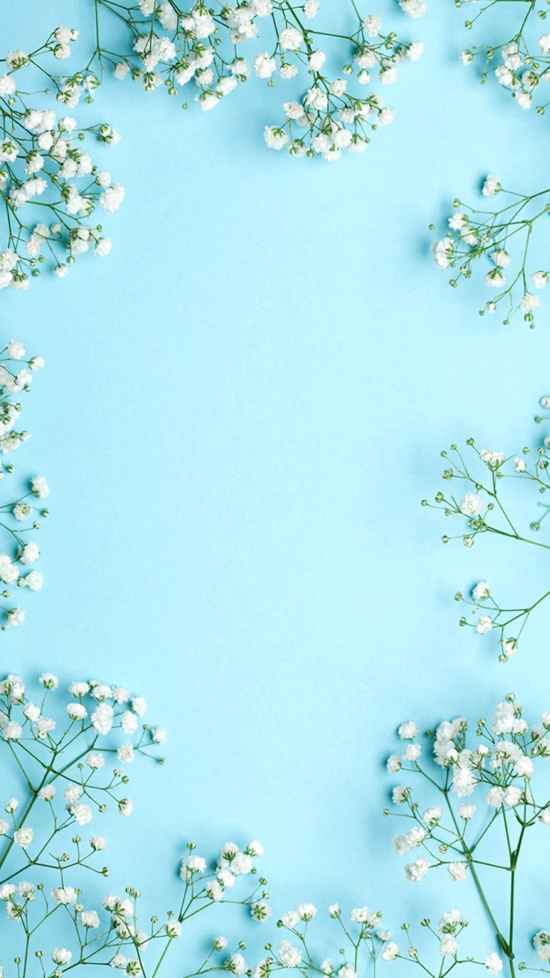 aesthetic blue iphone wallpapers