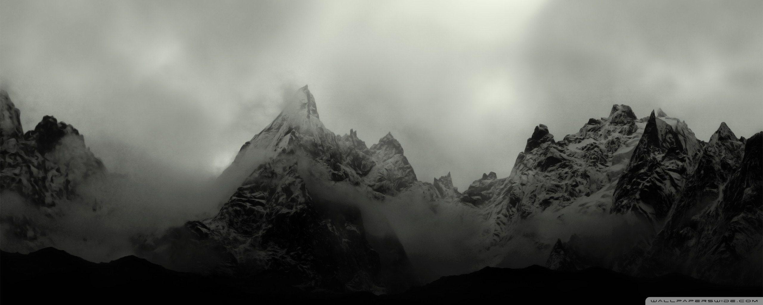 Misty Deer 4k Hd Desktop Wallpaper For 4k Ultra Hd Tv: Misty Mountains Wallpapers