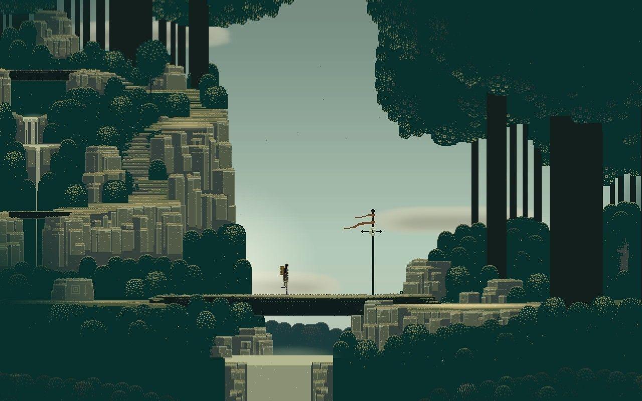 City Pixel Art Wallpapers