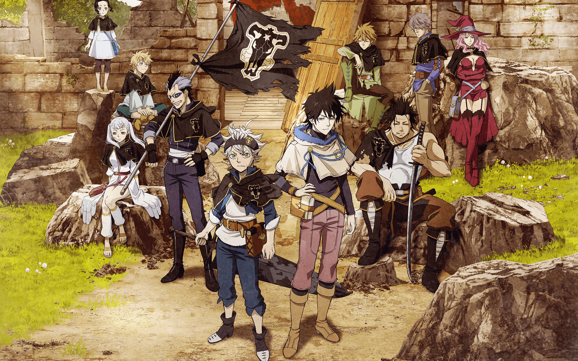 Black Clover 4k Wallpapers Top Free Black Clover 4k