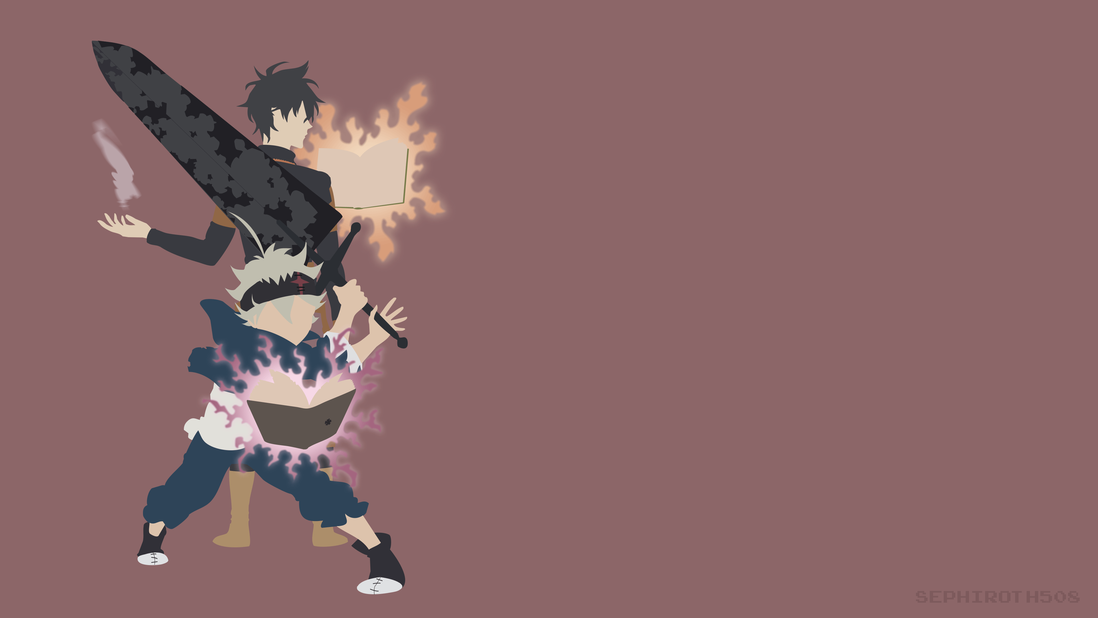 Black Clover 4k Wallpapers Top Free Black Clover 4k Backgrounds Wallpaperaccess