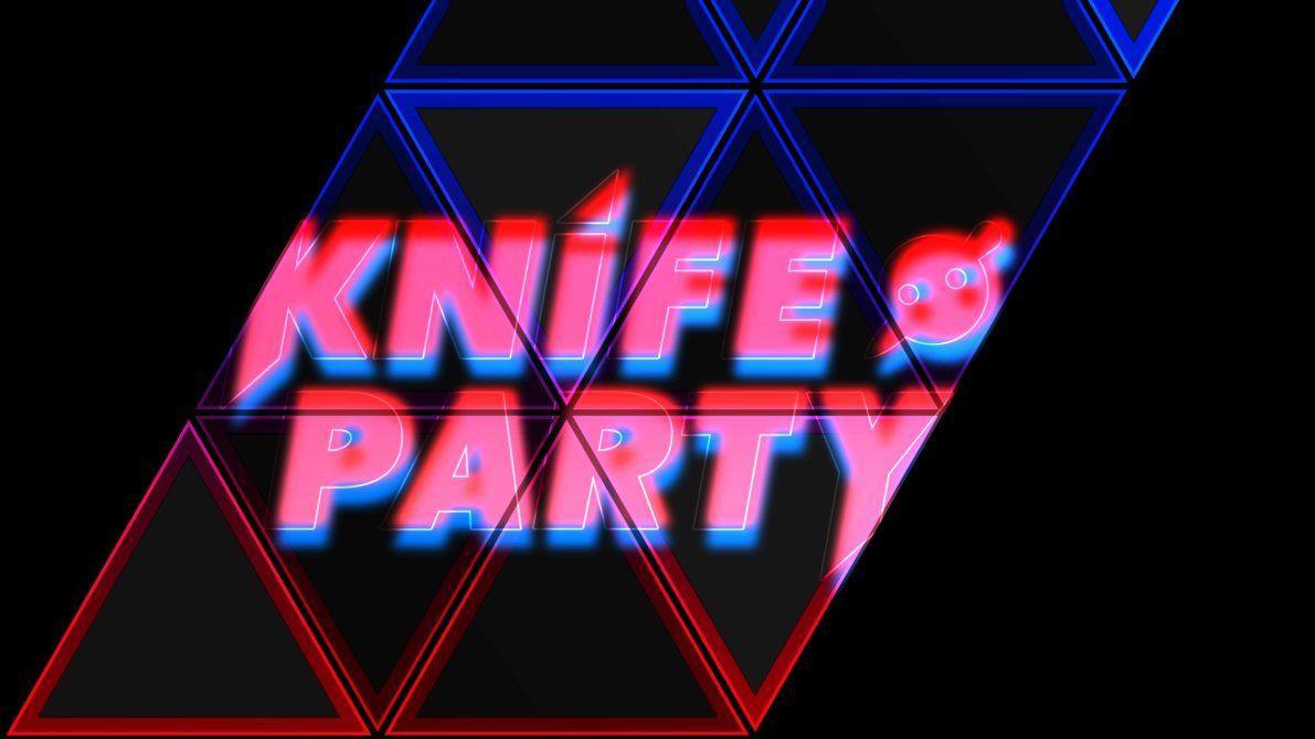 1191x670 Neon Knife Party (Hình nền 4k)