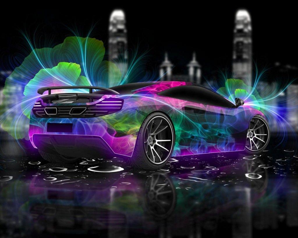 1920x1200 Mclaren purple ...