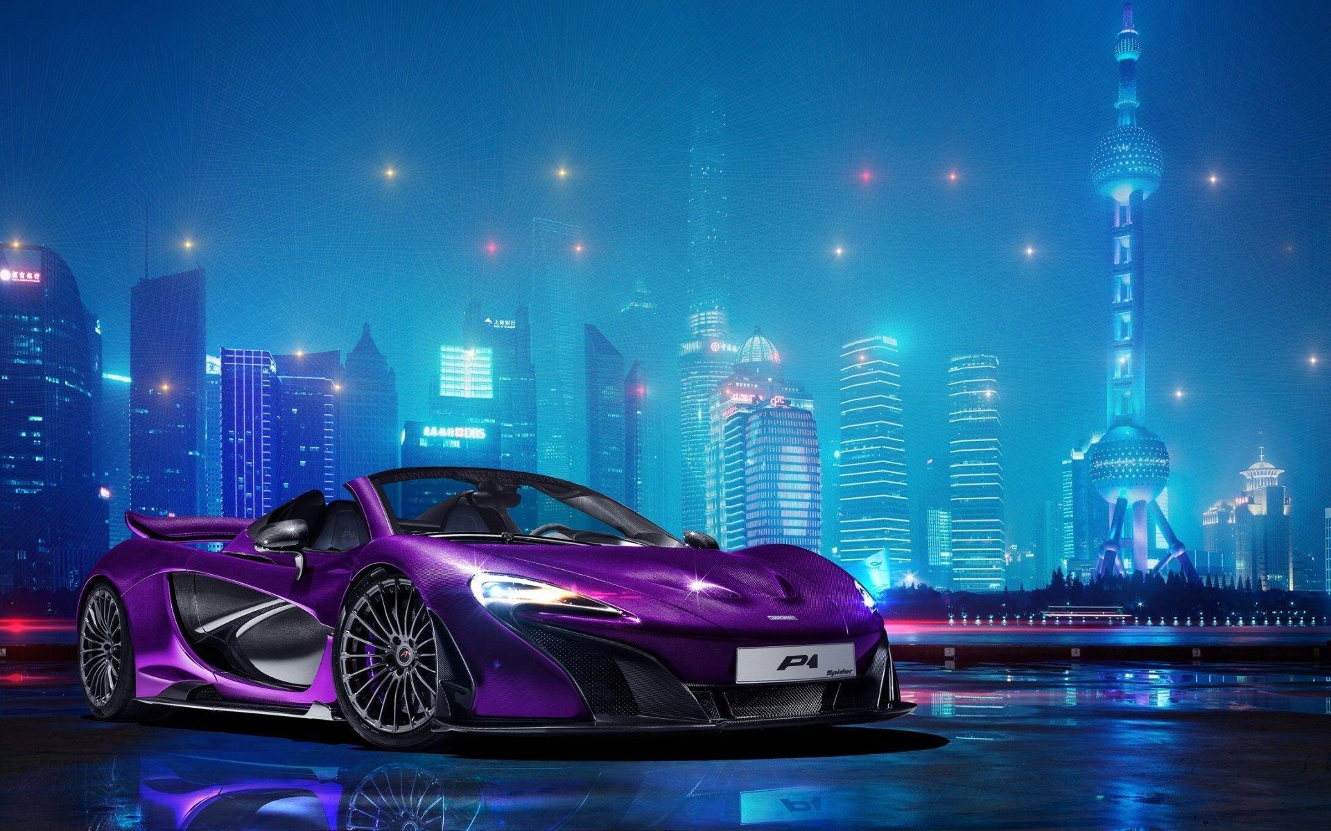 Purple Car Hd Wallpapers Top Free Purple Car Hd Backgrounds