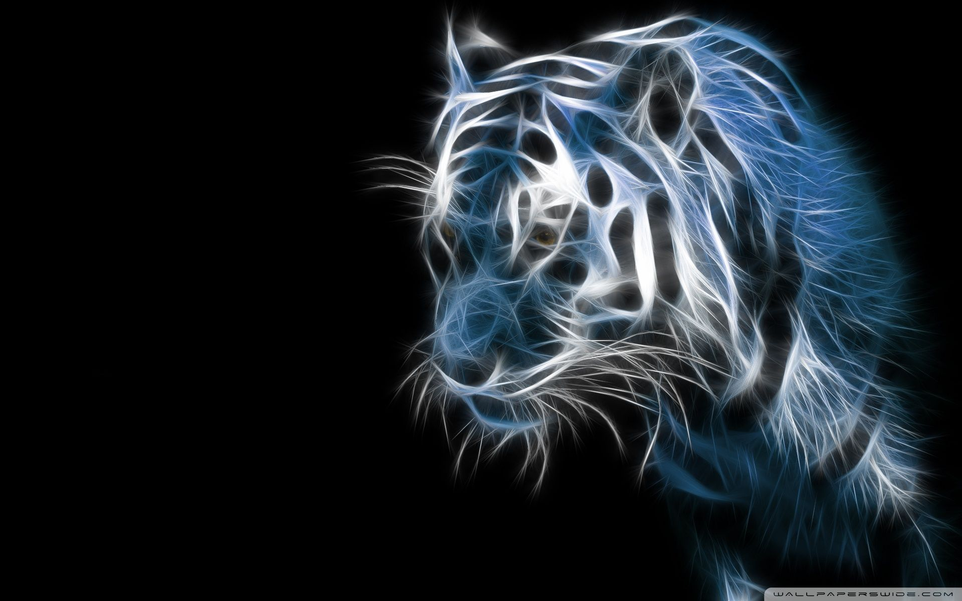 Abstract Tiger Wallpapers Top Free Abstract Tiger Backgrounds Wallpaperaccess