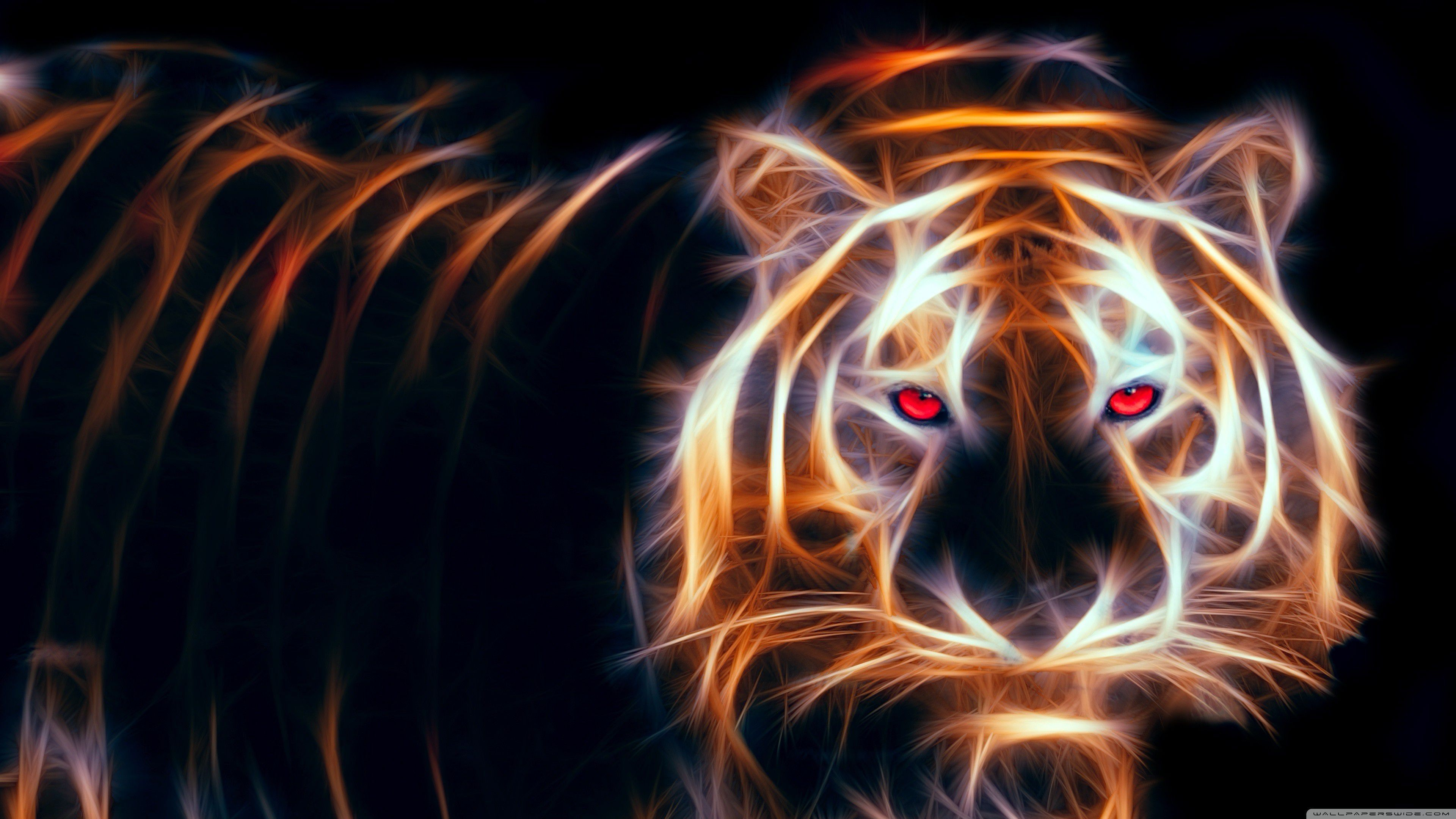 52 Best Free Abstract Tiger Wallpapers Wallpaperaccess