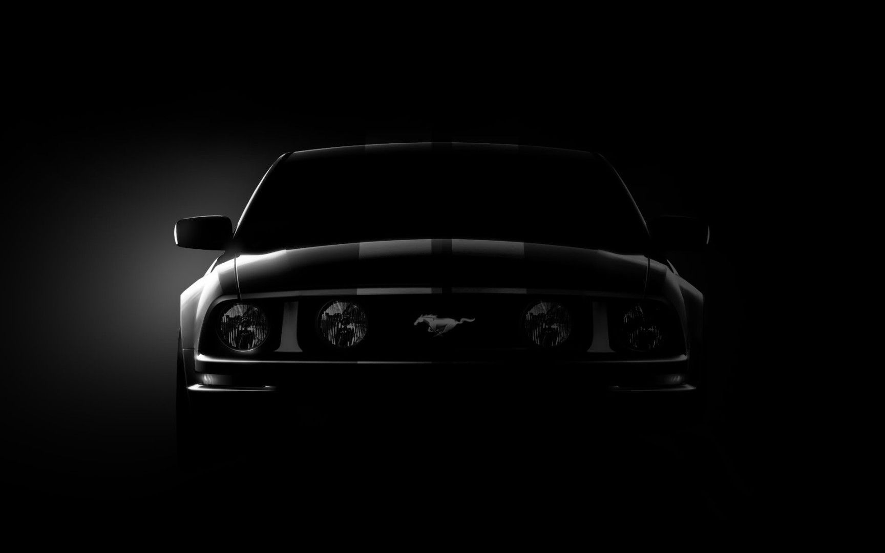 Black Ford Mustang Wallpapers Top Free Black Ford Mustang Backgrounds Wallpaperaccess