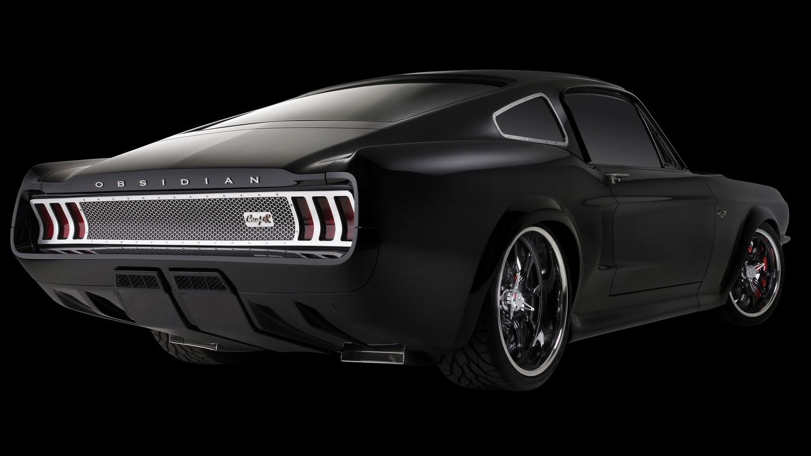Black Ford Mustang Wallpapers Top Free Black Ford Mustang