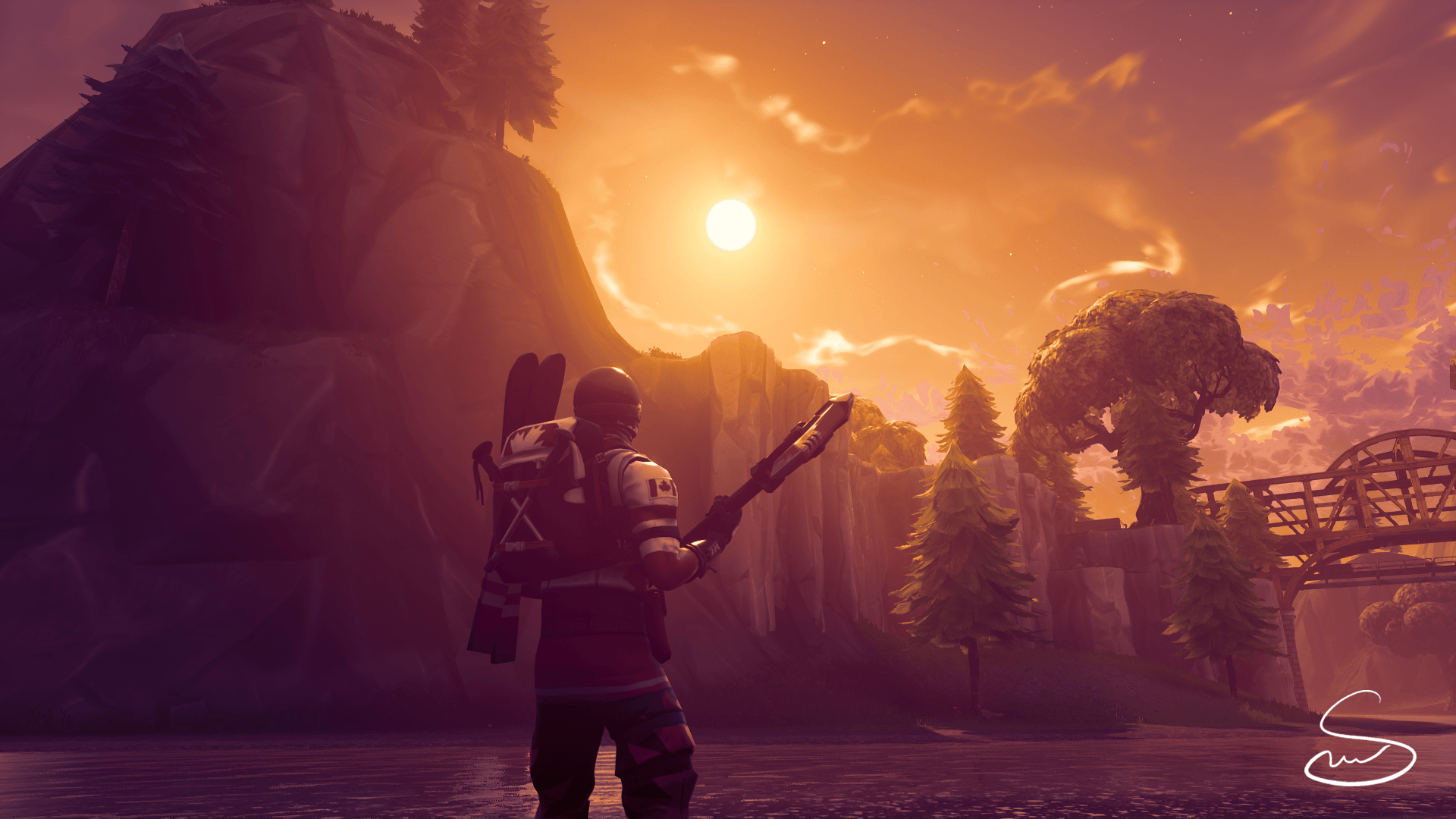 Renderbr Downloads Render Full Hd Playerunknown S: Fortnite Alpine Ace Wallpapers
