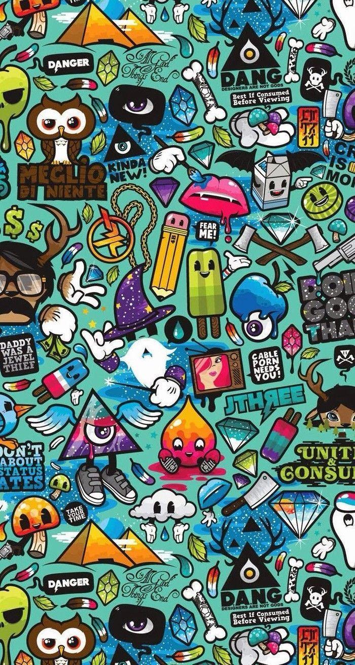Cartoon Graffiti Wallpapers Top Free Cartoon Graffiti