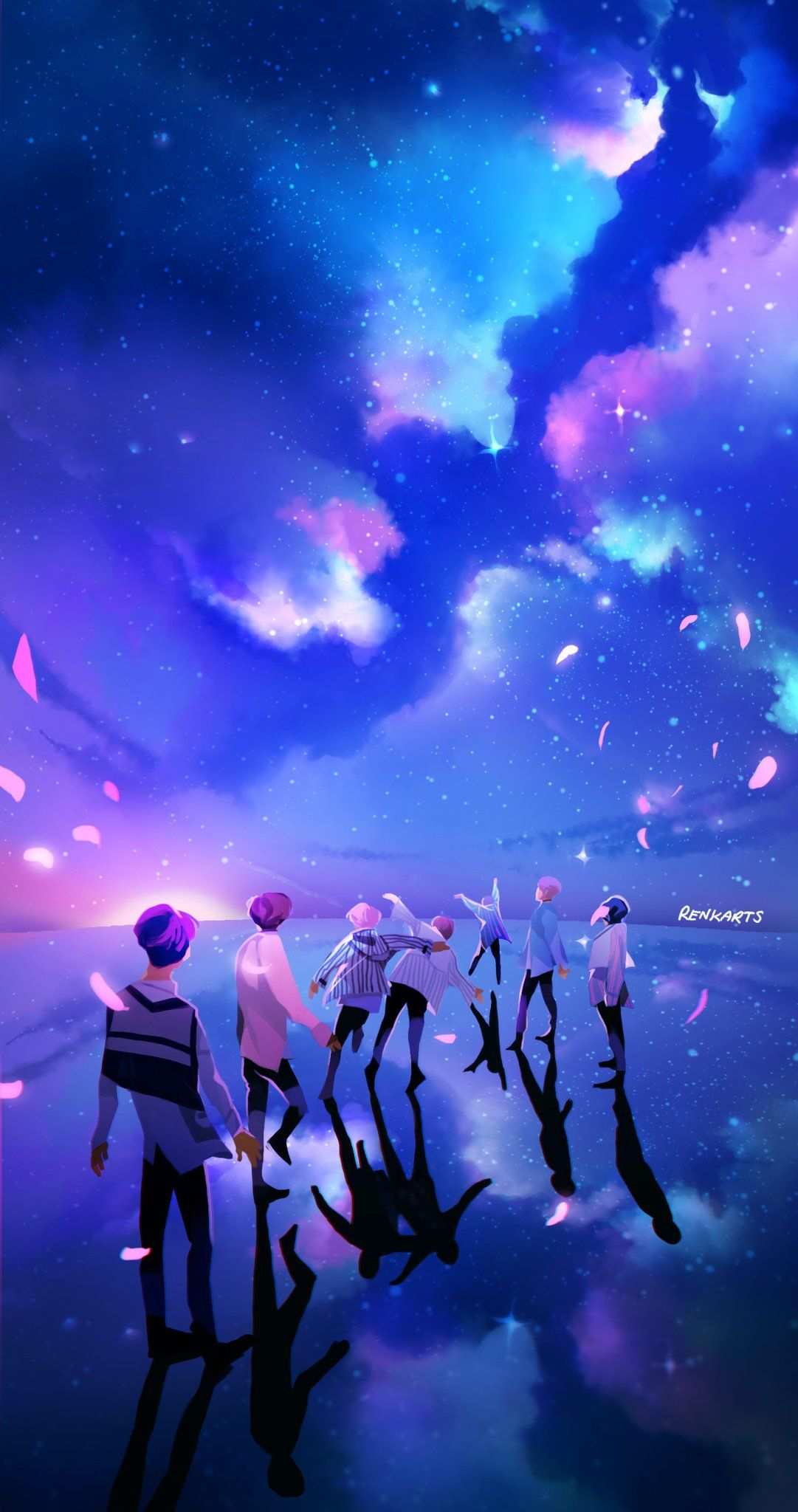 Bts Fan Art Wallpapers Top Free Bts Fan Art Backgrounds