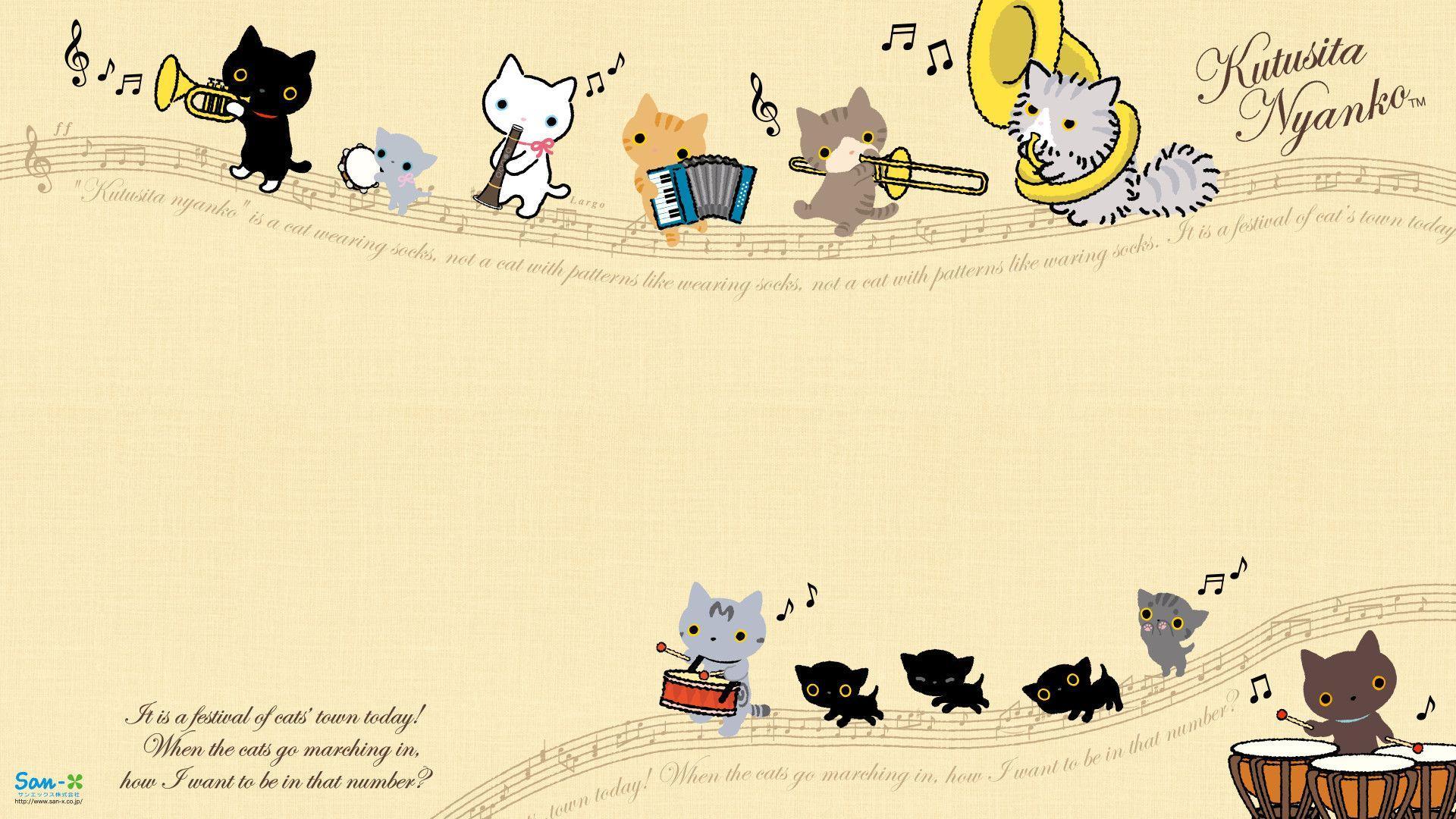 Kawaii Cat Laptop Wallpaper Petswall