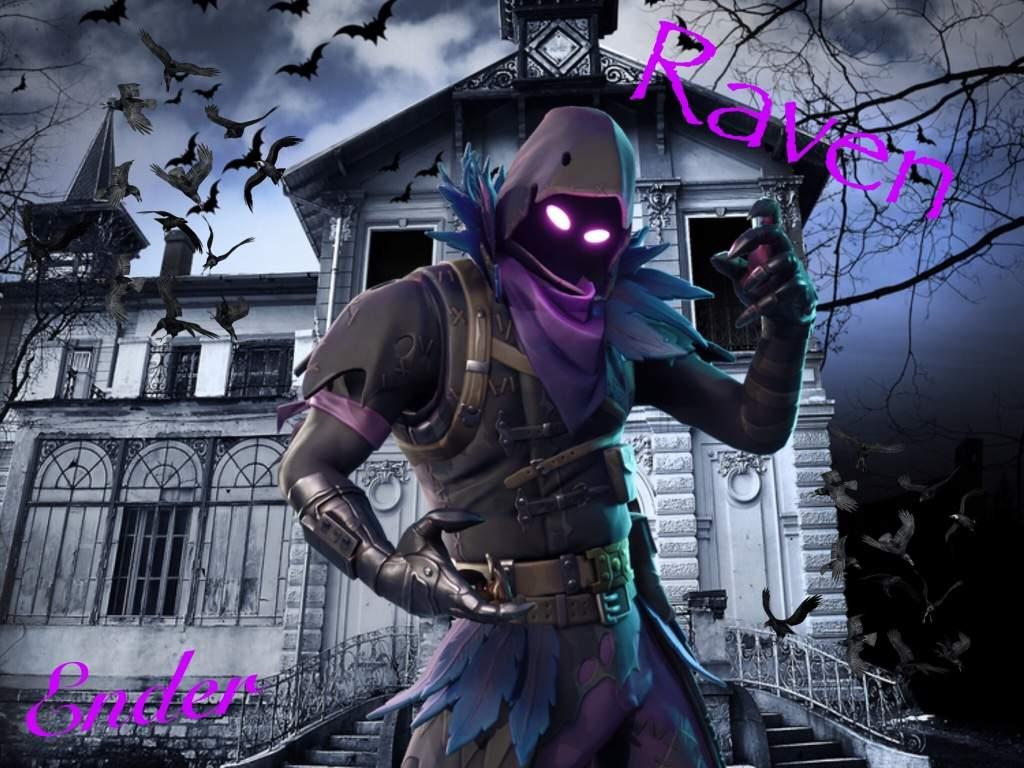 Ravens Fortnite Battle Royal Wallpapers Top Free Ravens