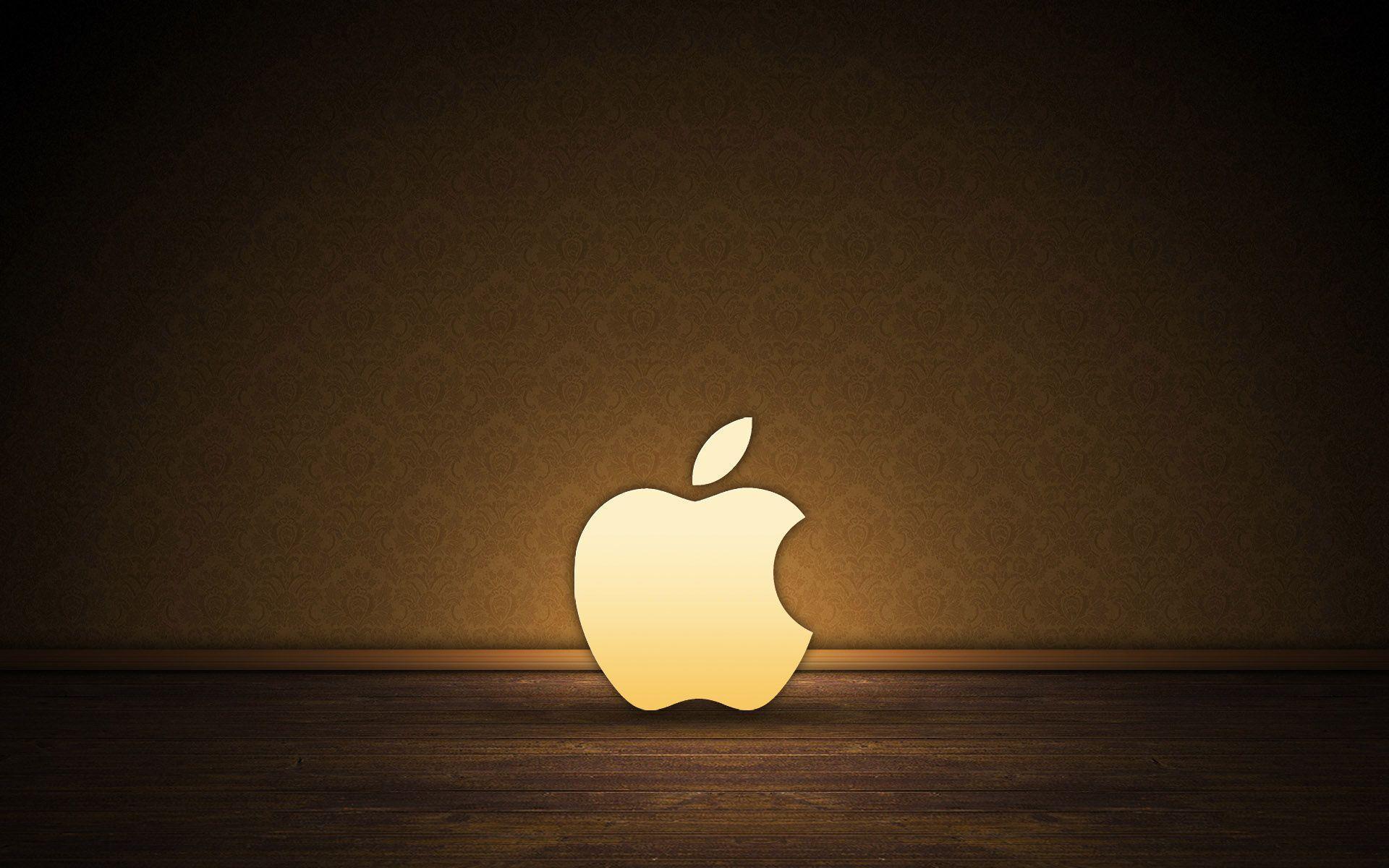 Unduh 7000 Wallpaper Apple Logo Gold  Gratis