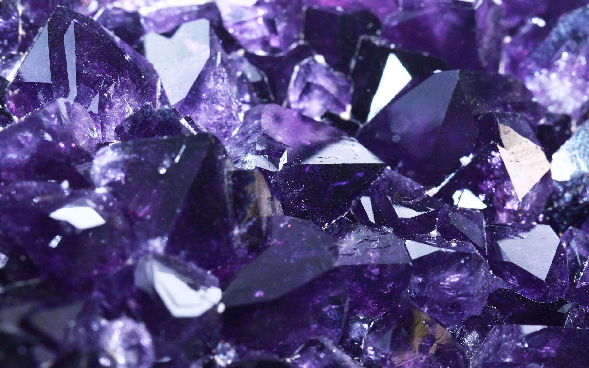 Crystal Purple Aesthetic Wallpapers - Top Free Crystal ...