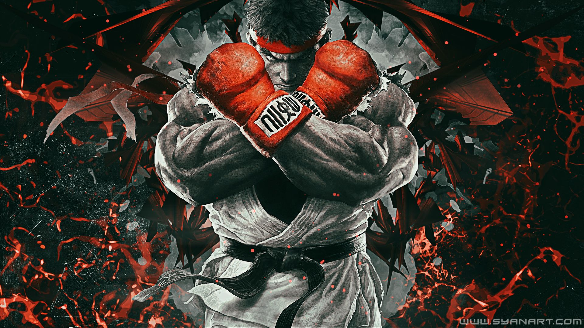 ryu street fighter 5 wallpaper