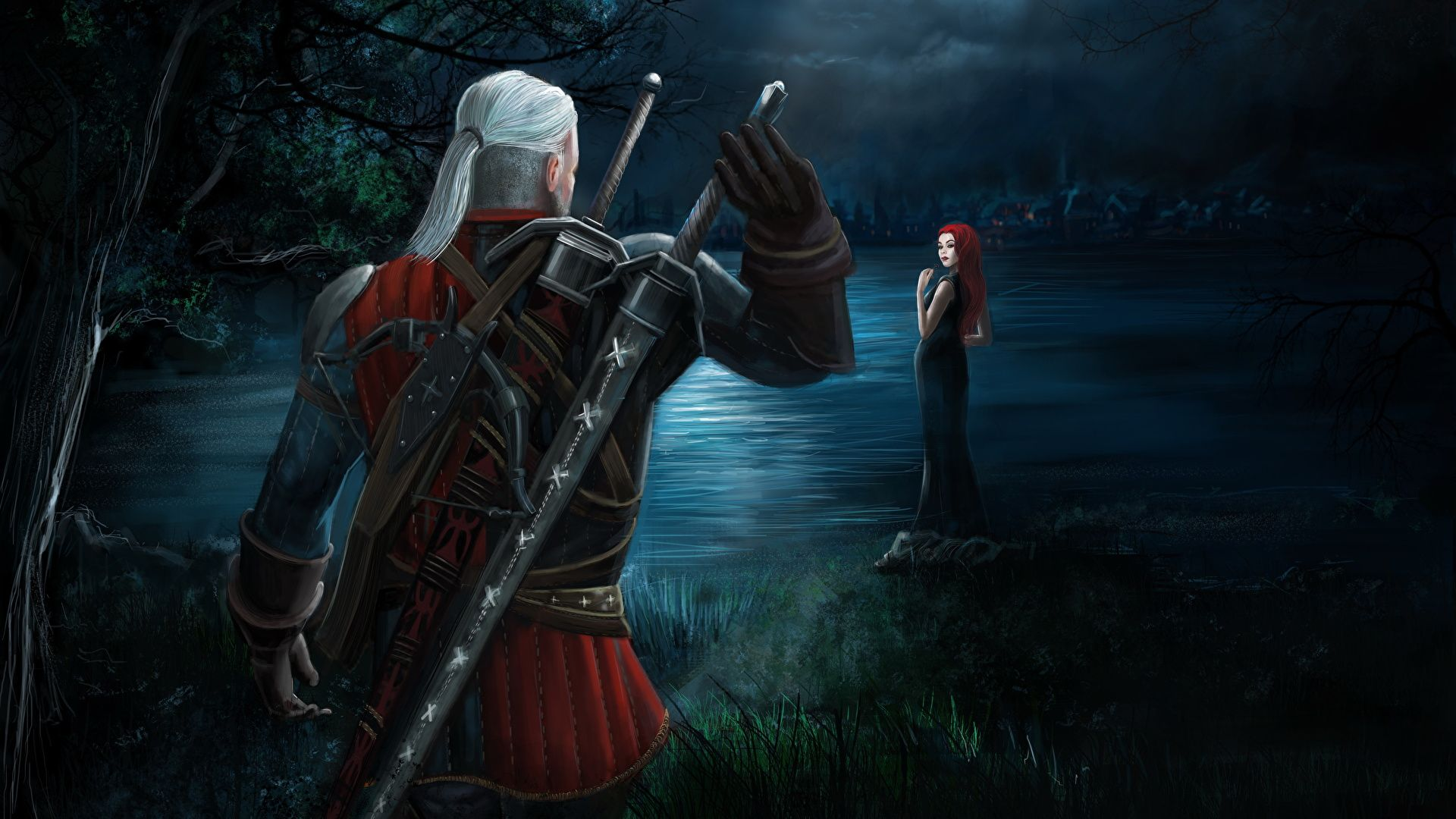 The Witcher 1920x1080 Wallpapers Top Free The Witcher 1920x1080