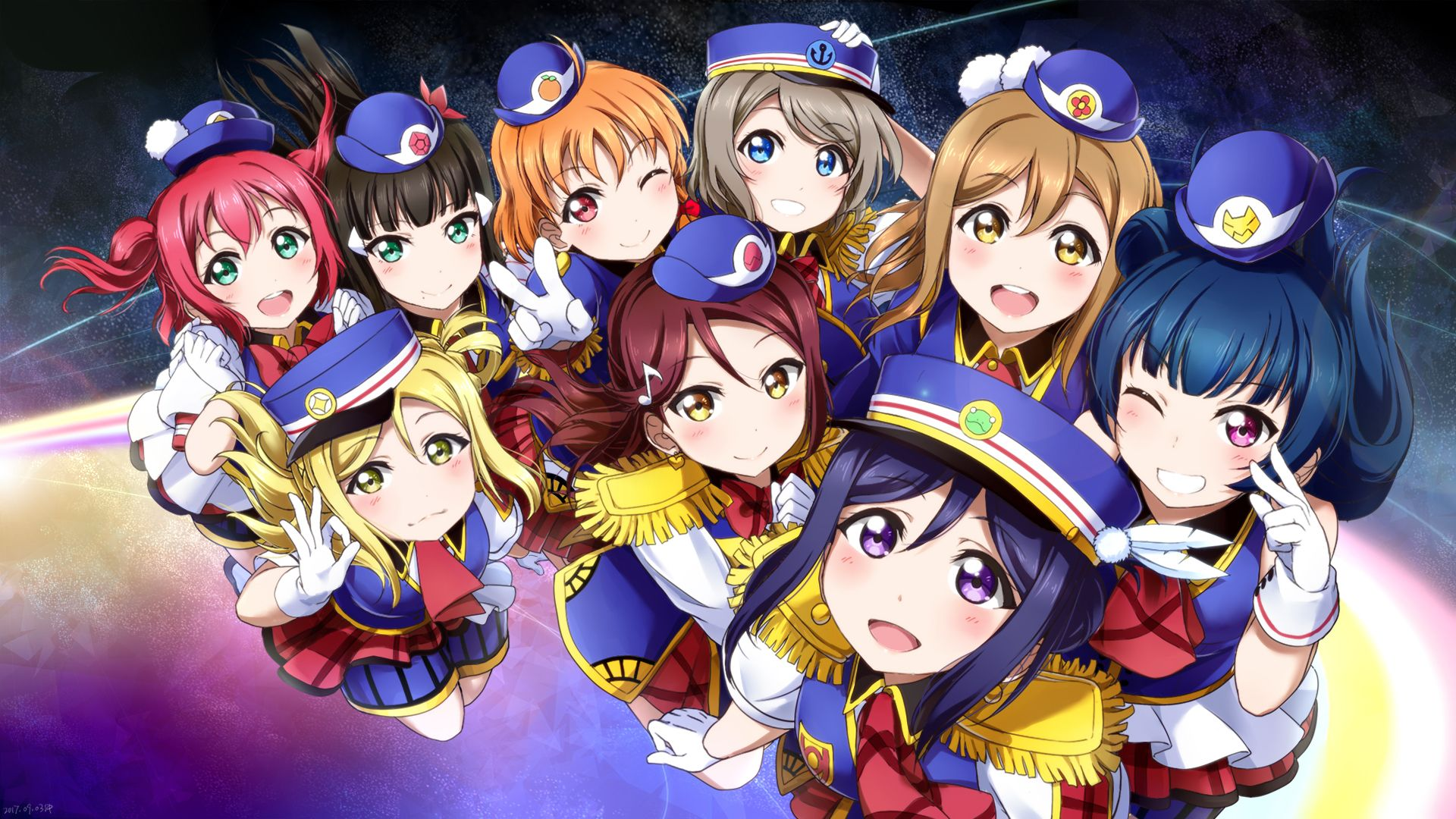 Aqours Wallpapers Top Free Aqours Backgrounds Wallpaperaccess