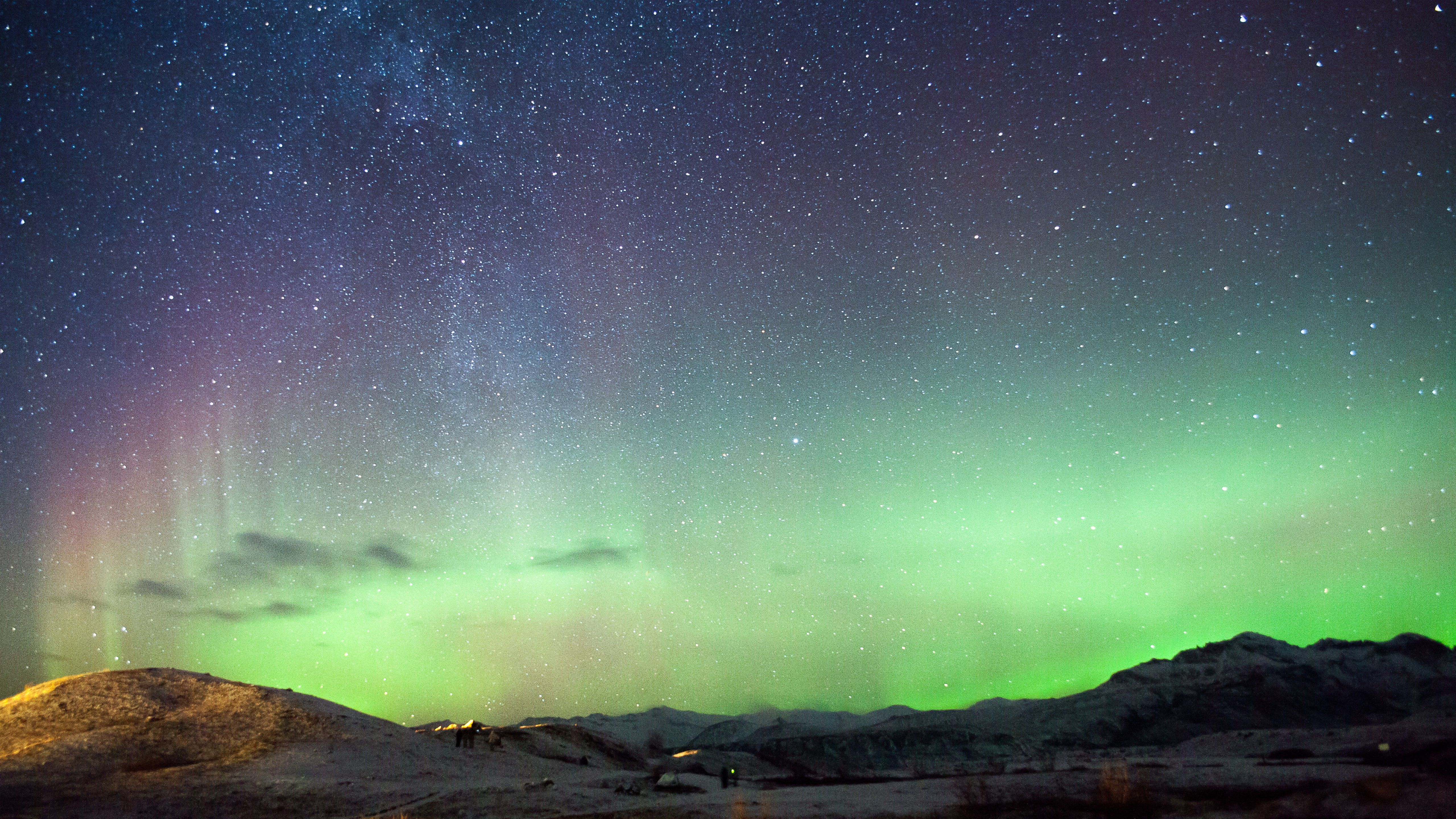 Iceland Northern Lights 4k Wallpapers Top Free Iceland