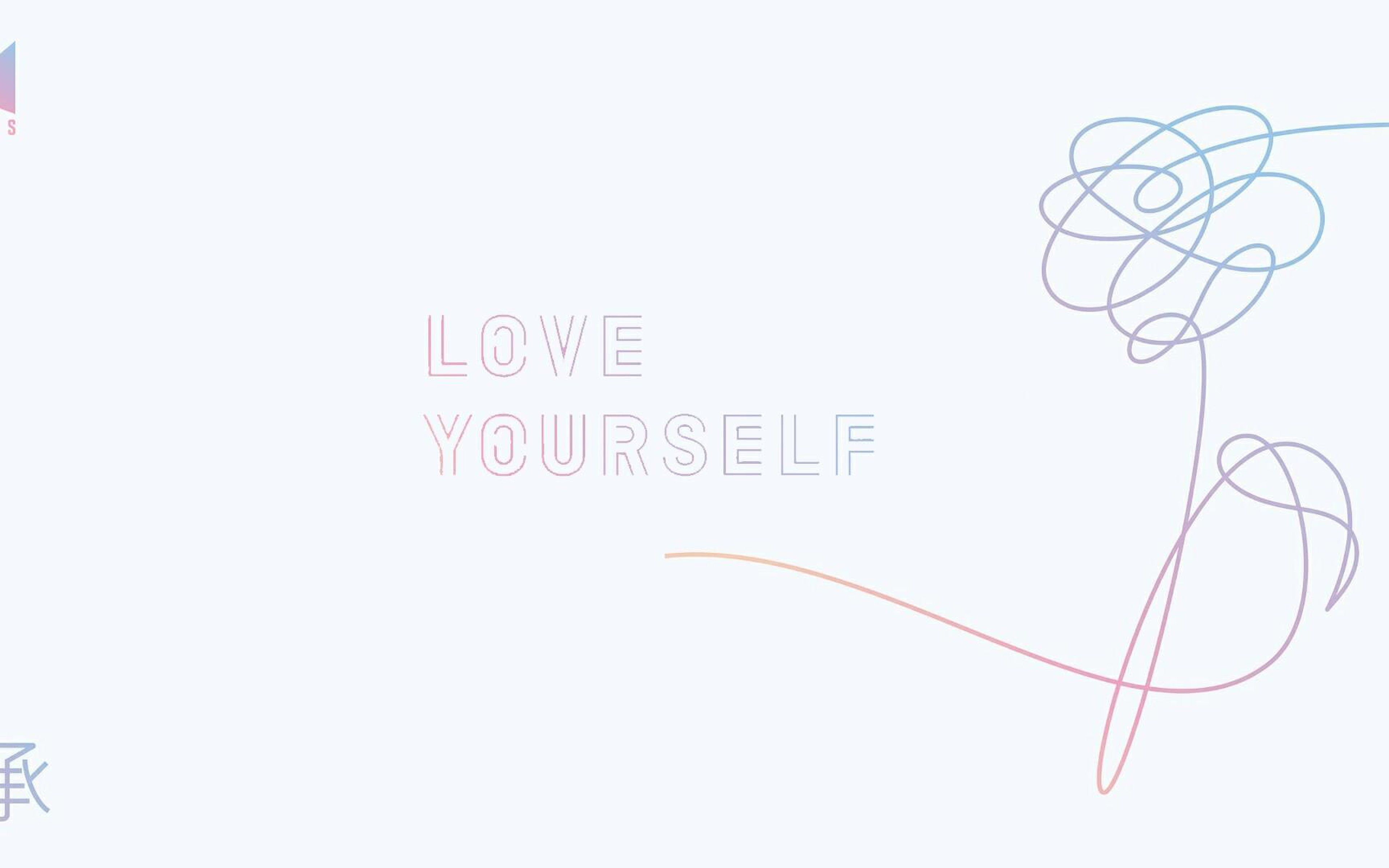 Bts Laptop Wallpaper Bts Love Yourself Wallpaper Desktop Hd
