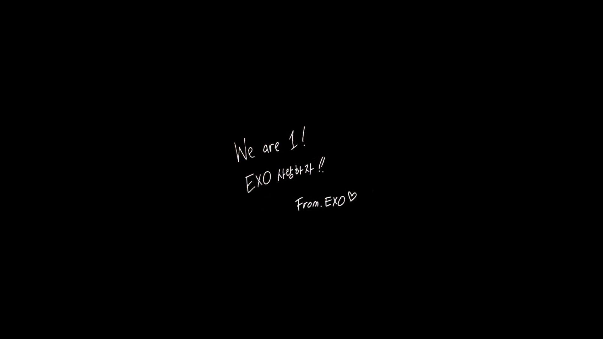 Exo Logo Wallpaper Hd