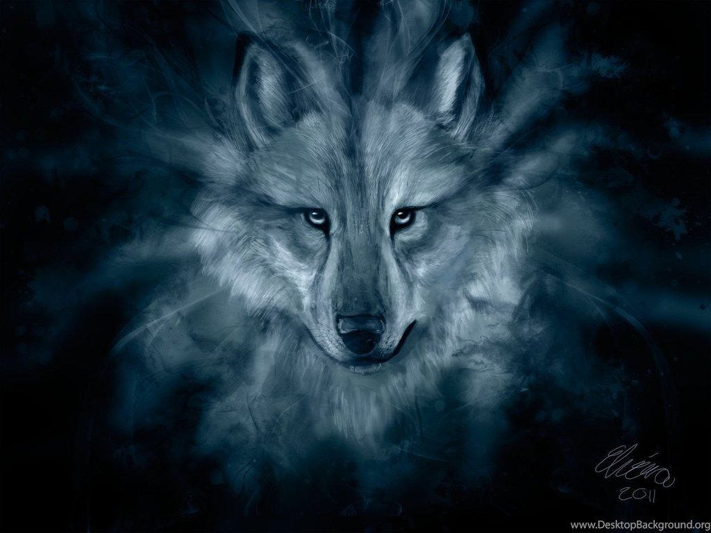 Blue Spirit Wolf Wallpapers - Top Free Blue Spirit Wolf