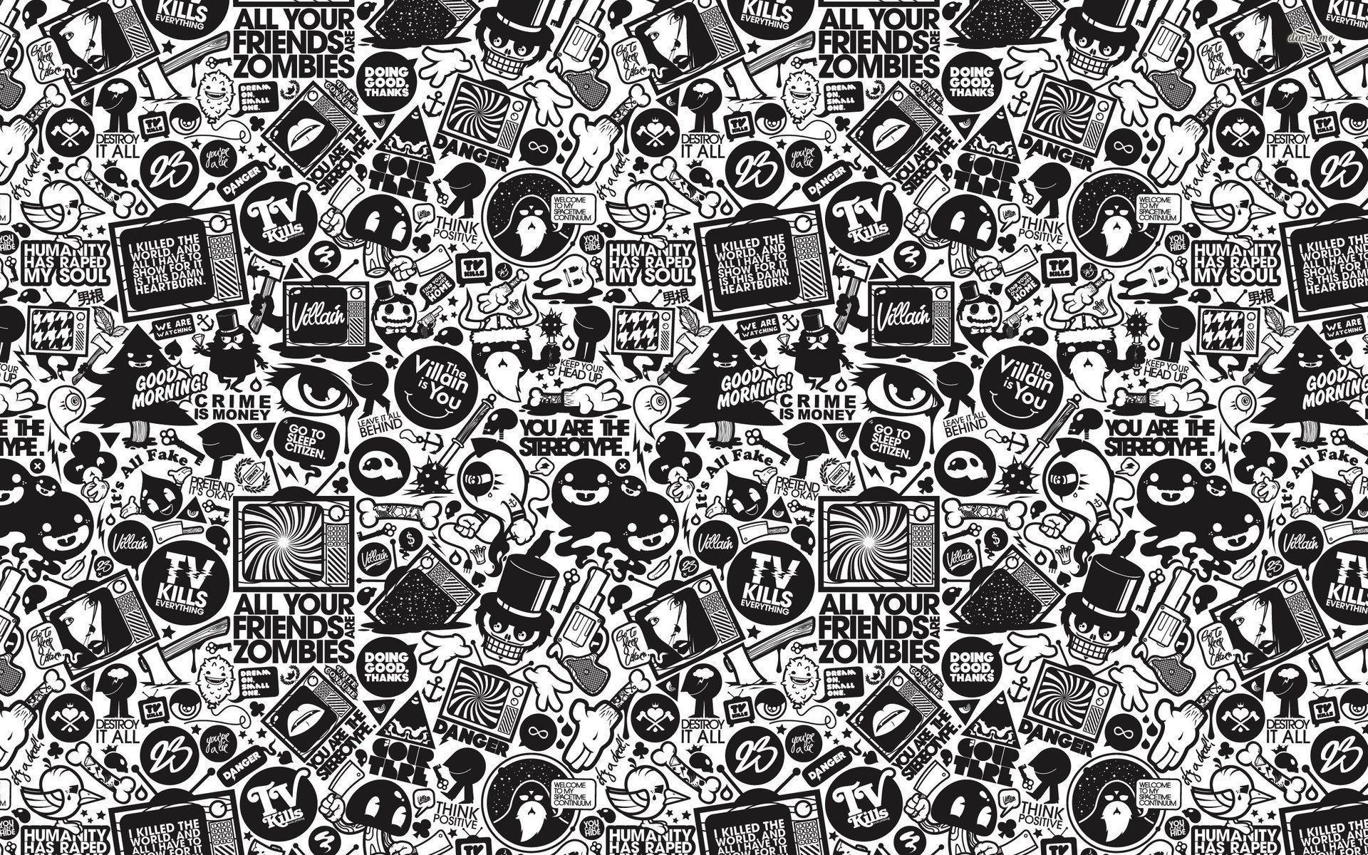 50 Best Free Tumblr Black And White Desktop Wallpapers