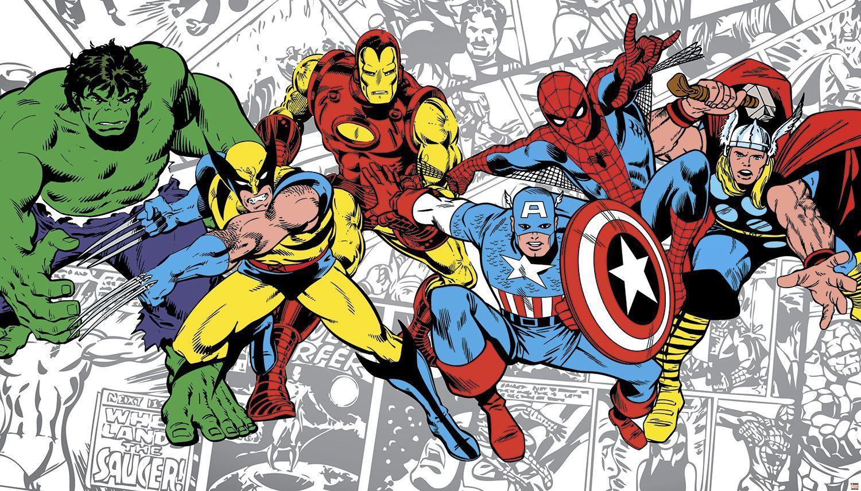 Avengers Cartoon Characters Wallpapers Top Free Avengers Cartoon Characters Backgrounds Wallpaperaccess