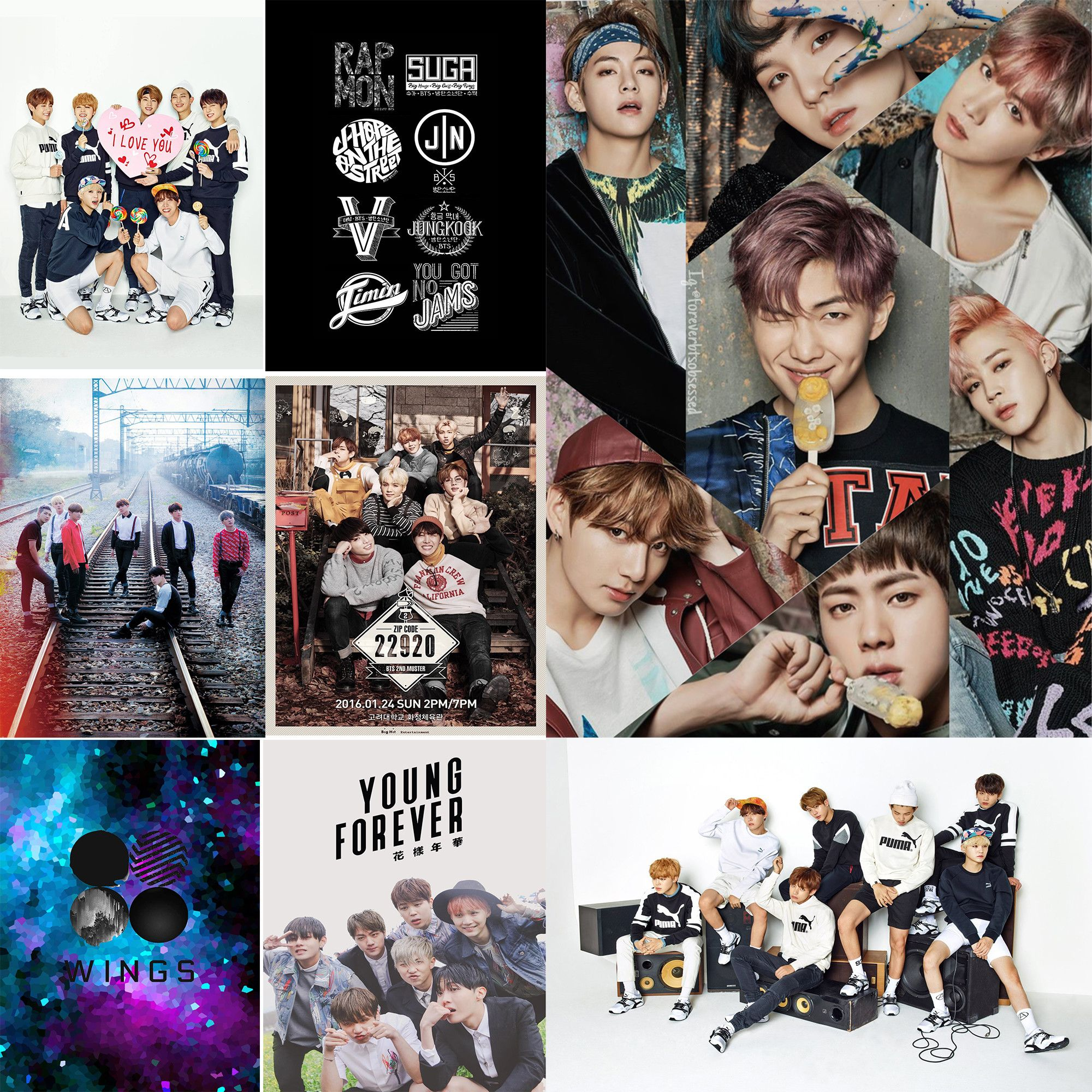 Top Free BTS IPhone Backgrounds