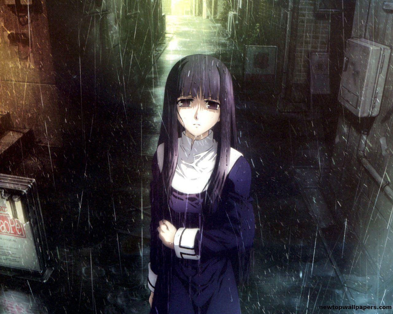 Rain Girl Sad Anime Wallpapers - Top Free Rain Girl Sad ...