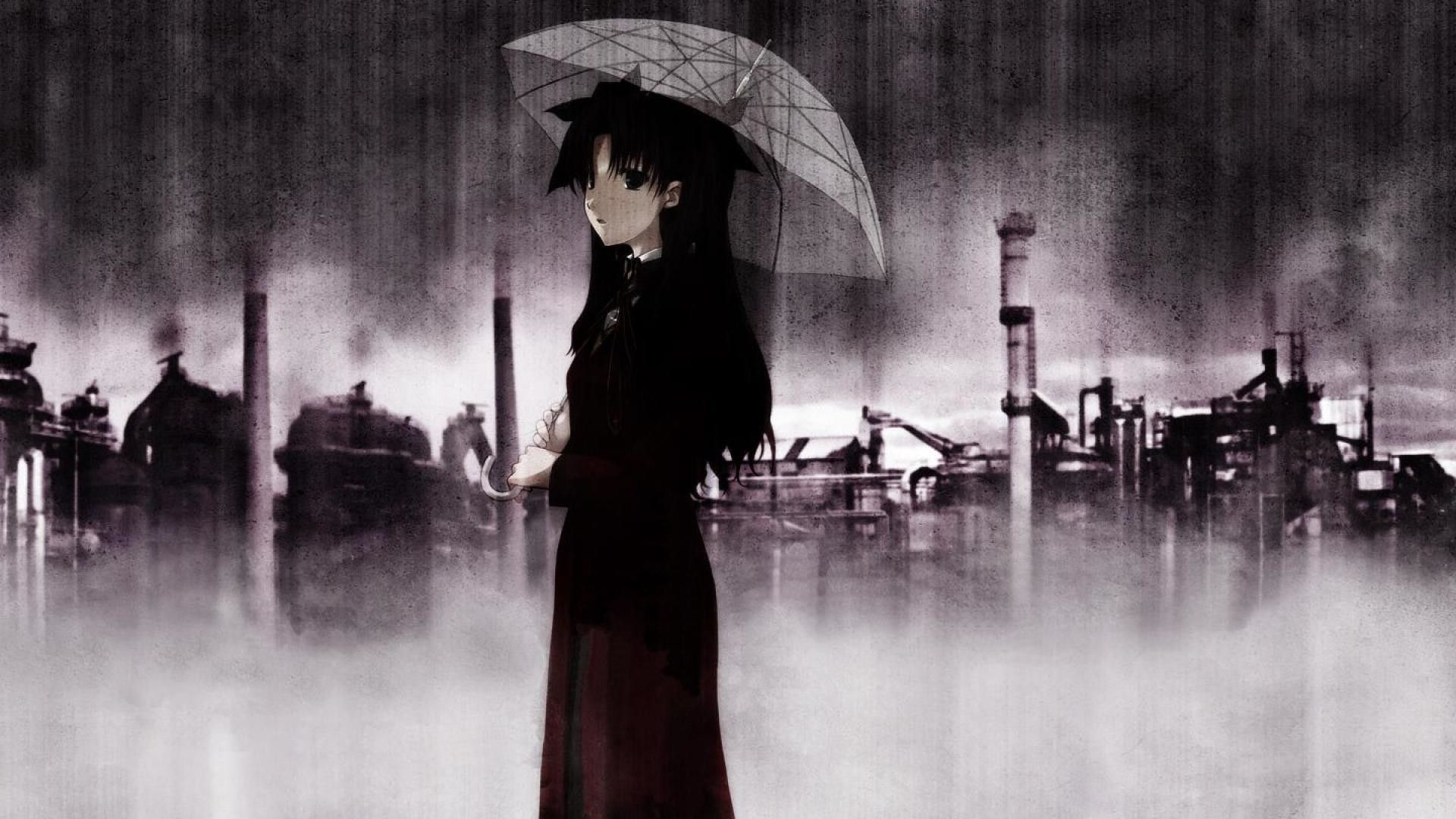 Rain Sad Anime Wallpapers Top Free Rain Sad Anime Backgrounds