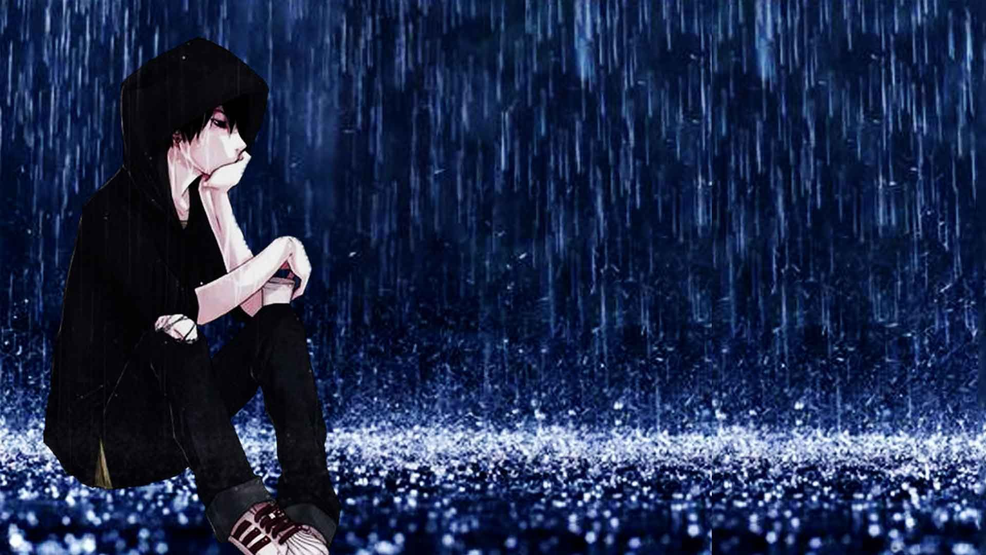 Rain sad anime wallpapers top free rain sad anime - Anime rain wallpaper ...
