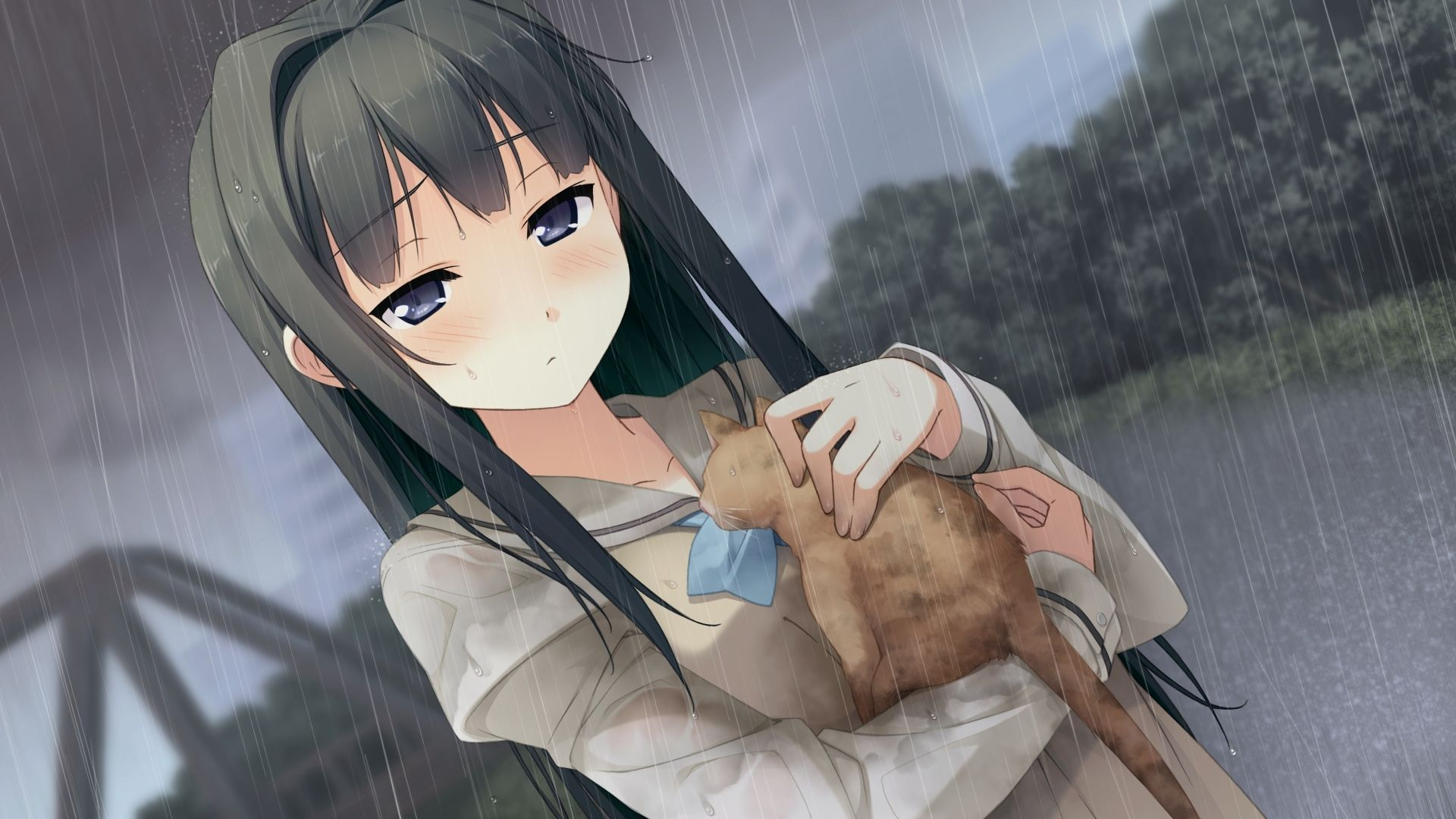 Rain Sad Anime Wallpapers - Top Free Rain Sad Anime ...