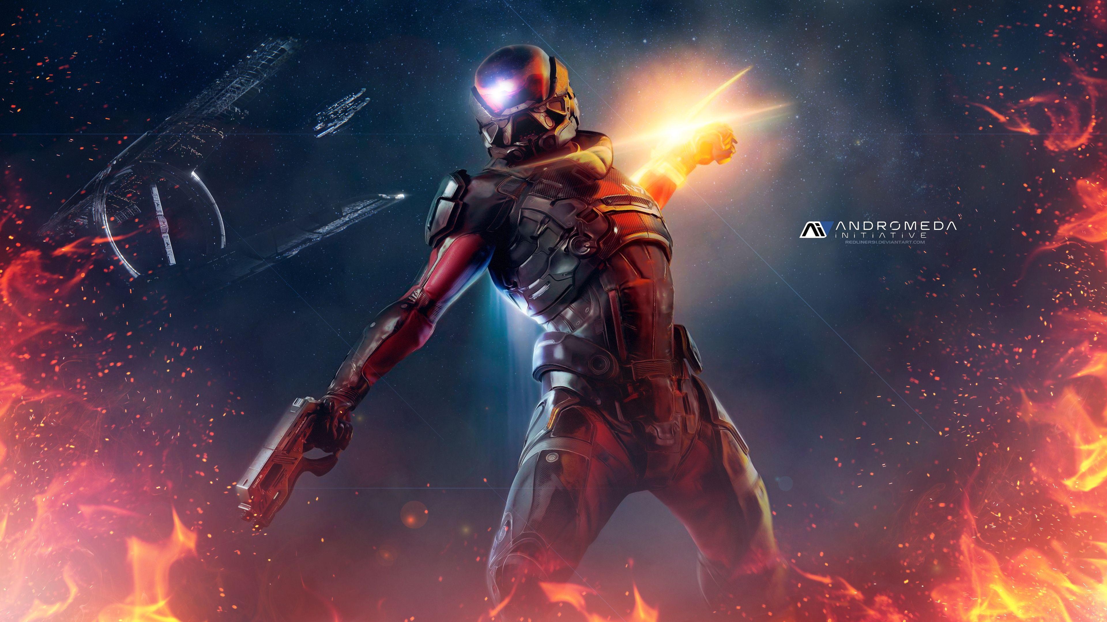 4k Mass Effect Wallpapers Top Free 4k Mass Effect