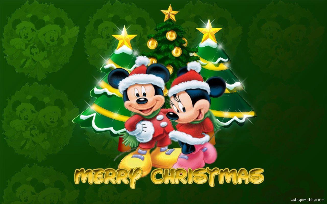 Mickey Christmas Wallpapers Top Free Mickey Christmas