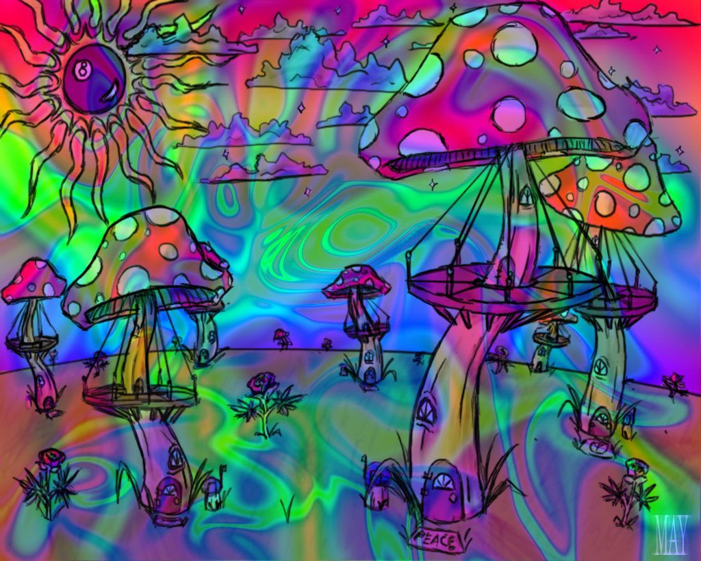 Psychedelic Weed Wallpapers - Top Free Psychedelic Weed ...