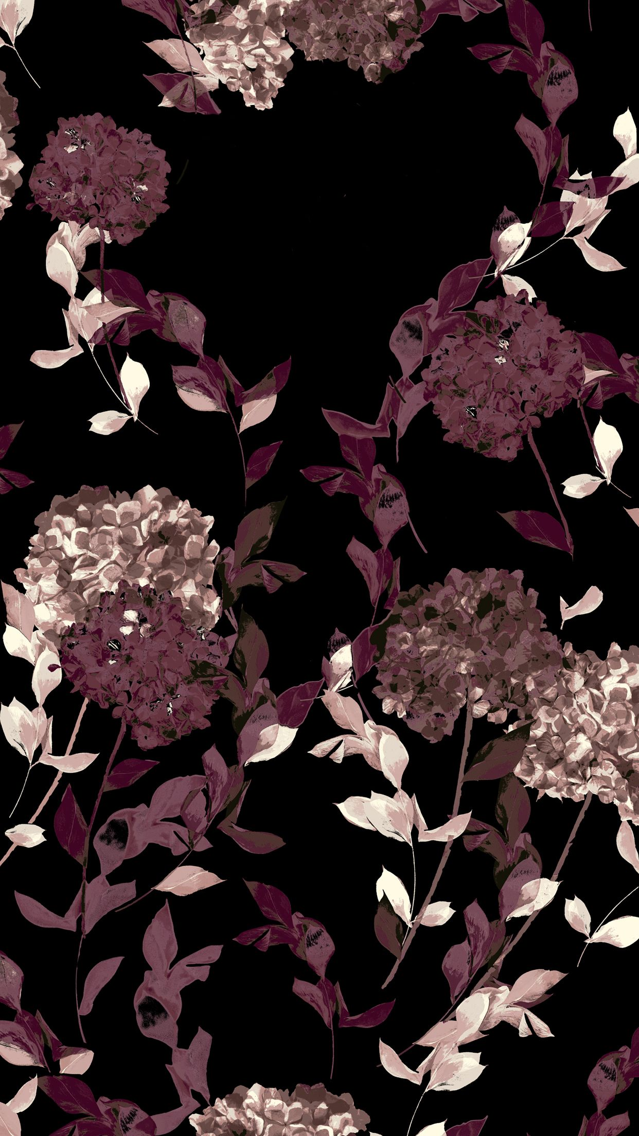 Dark Floral Iphone Wallpapers Top Free Dark Floral Iphone