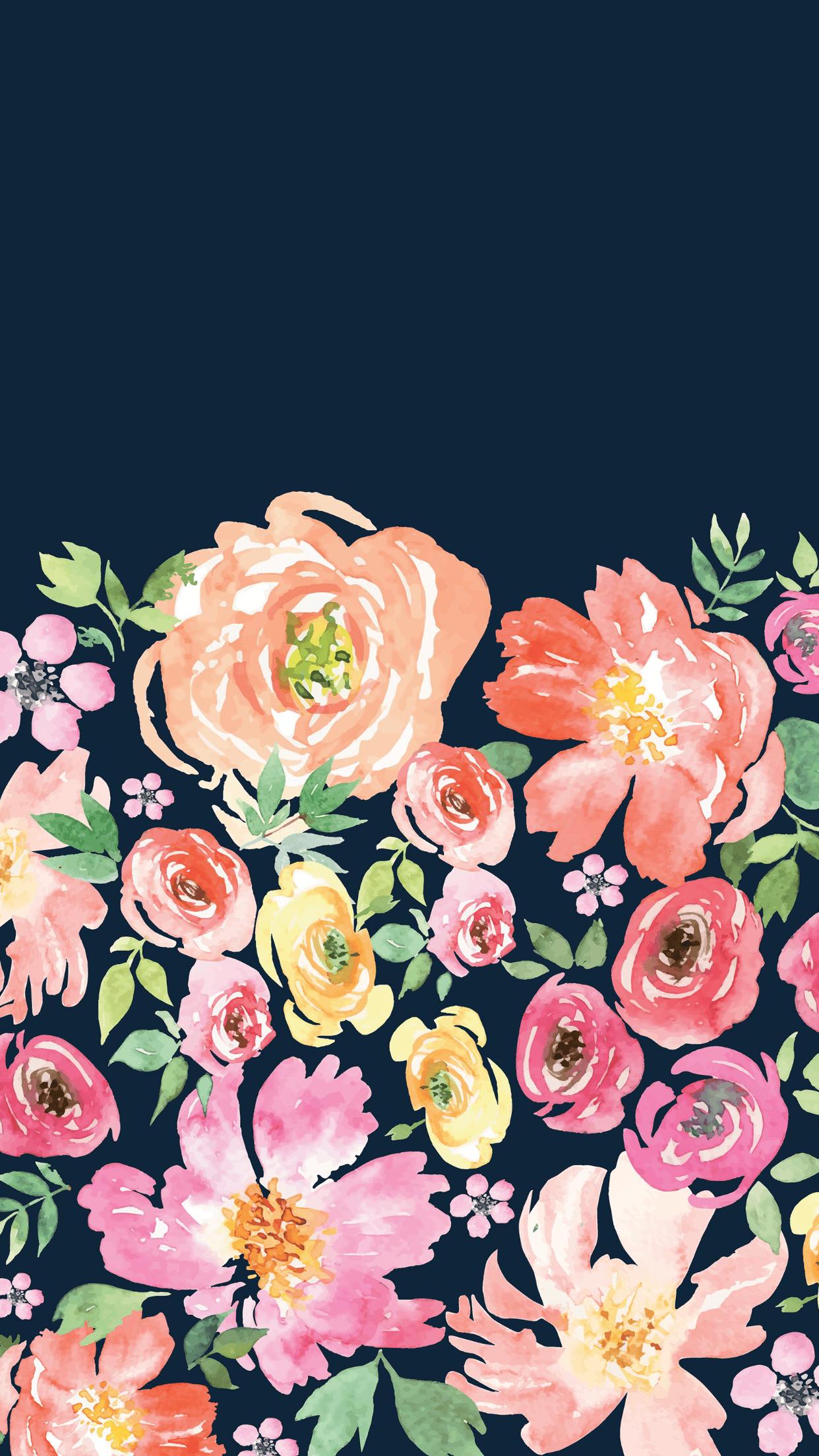 Dark Floral iPhone Wallpapers , Top Free Dark Floral iPhone