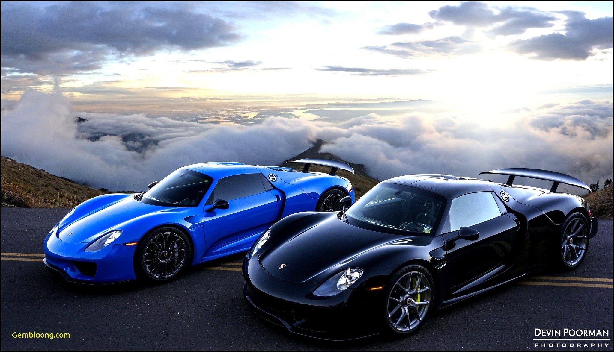 Blue Porsche 918 Spyder Wallpapers Top Free Blue Porsche 918 Spyder Backgrounds Wallpaperaccess