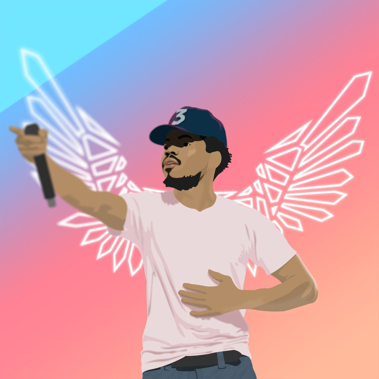 Chance The Rapper Cartoon Wallpapers Top Free Chance The Rapper Cartoon Backgrounds Wallpaperaccess