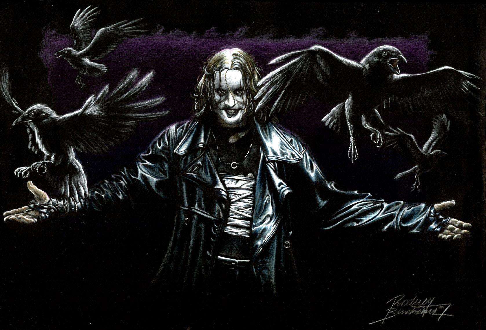 The Crow Wallpapers Top Free The Crow Backgrounds Wallpaperaccess
