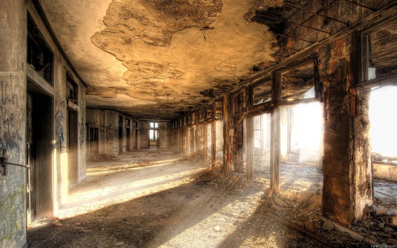 Beautiful Abandoned Places Wallpaper Discover Amazing Places