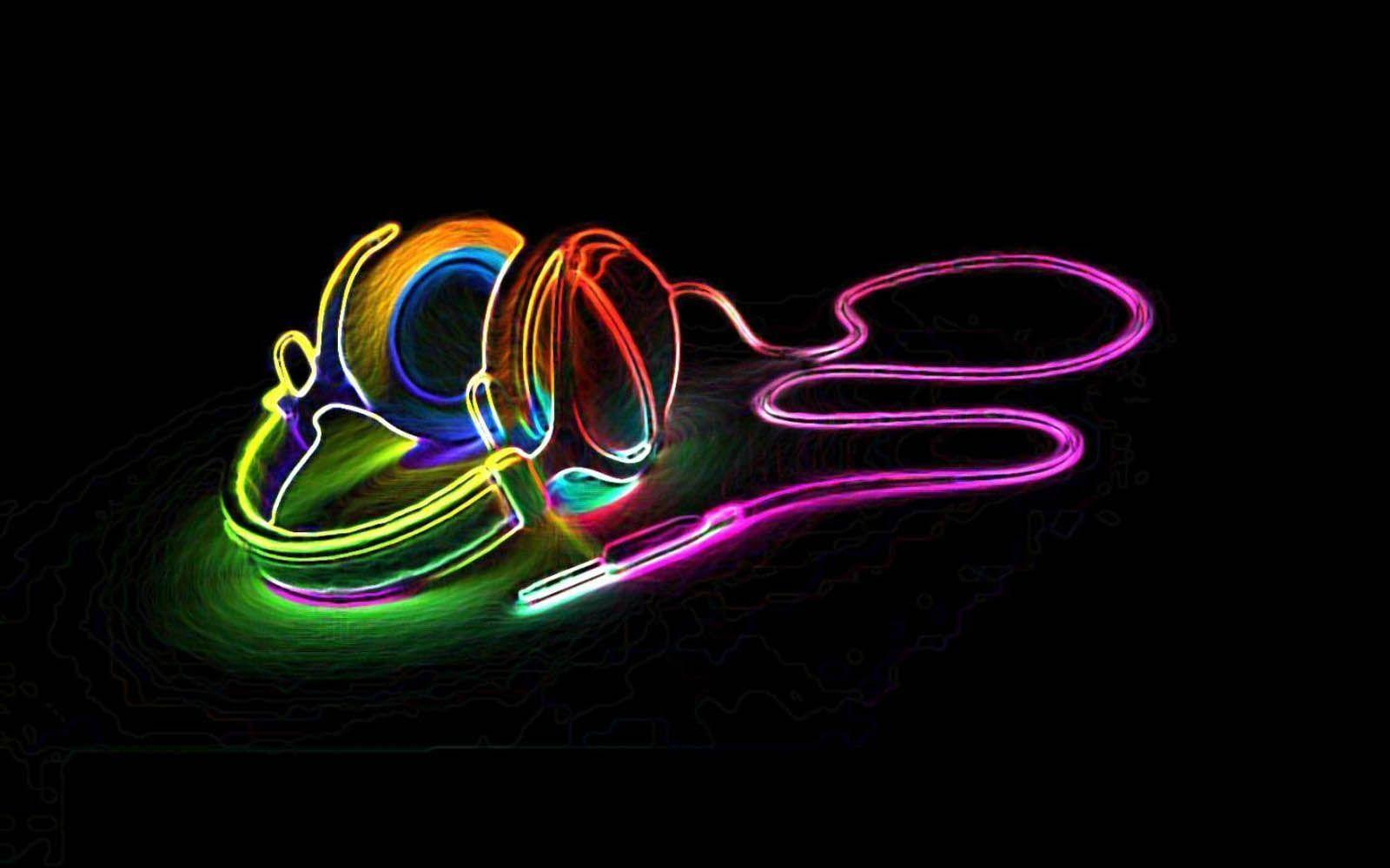 Cool Neon Backgrounds Wallpapers
