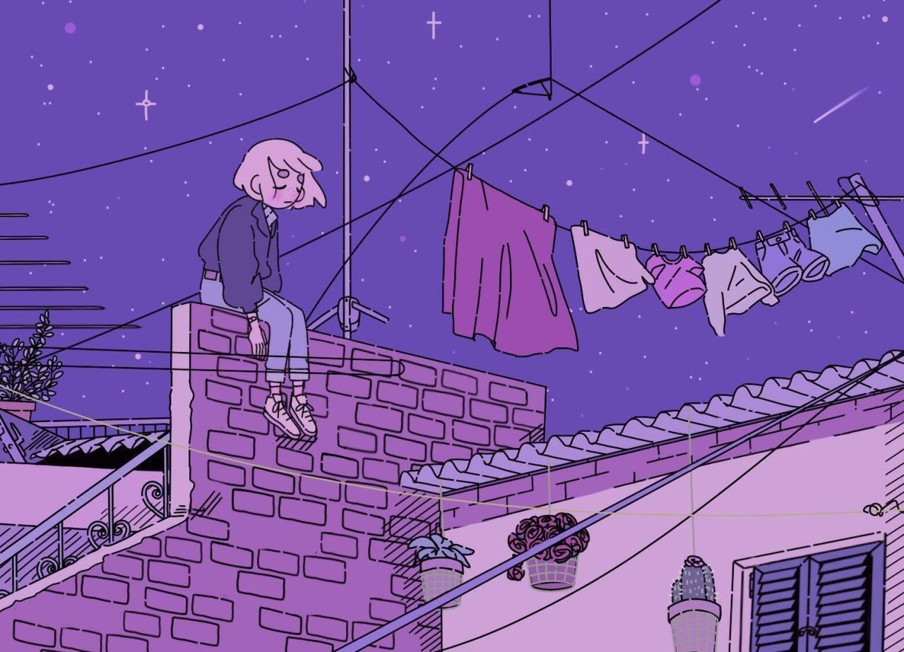Lo Fi Aesthetic Anime Wallpapers Top Free Lo Fi Aesthetic Anime Backgrounds Wallpaperaccess