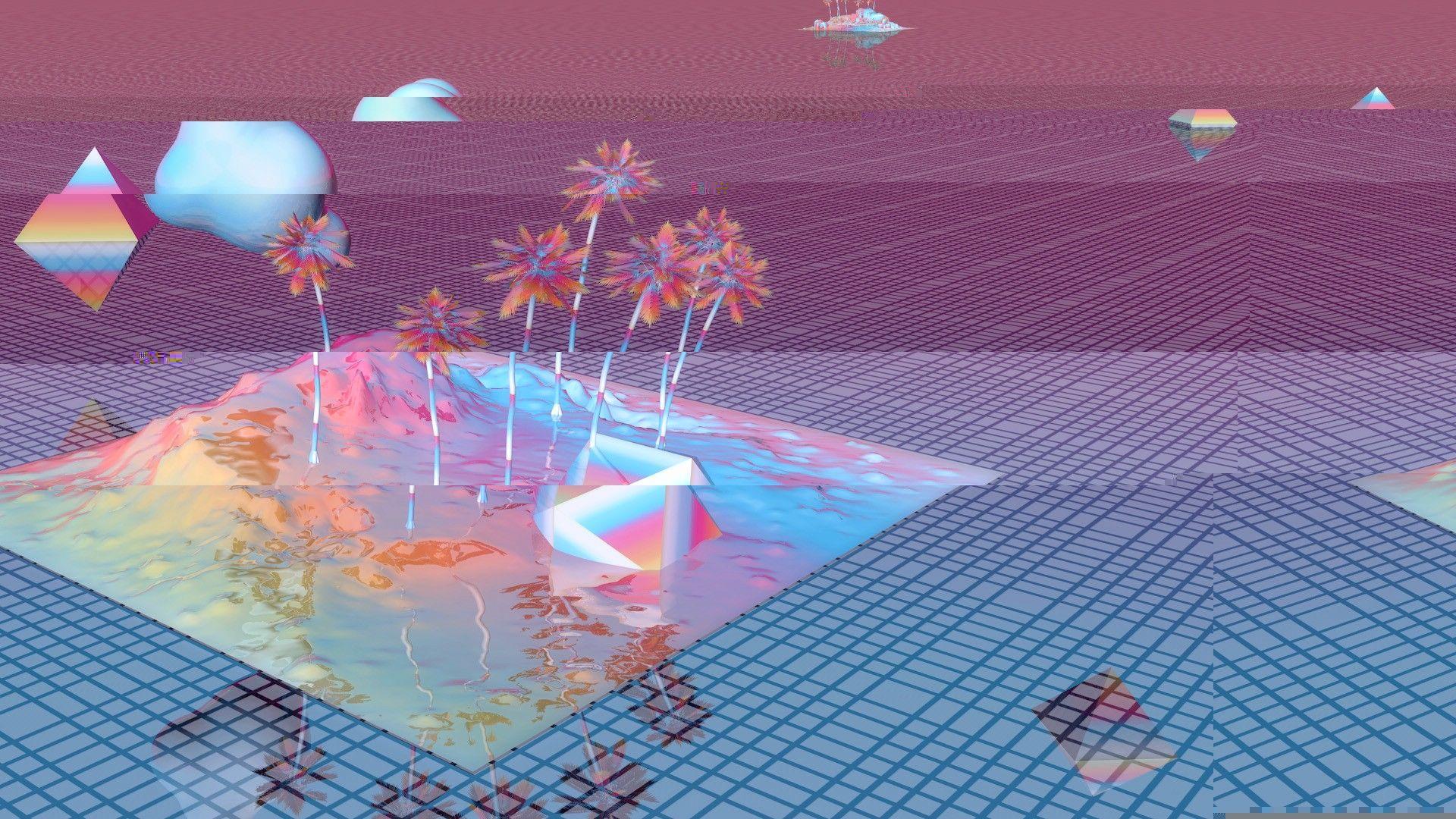 Vaporwave Desktop Wallpapers Top Free Vaporwave Desktop